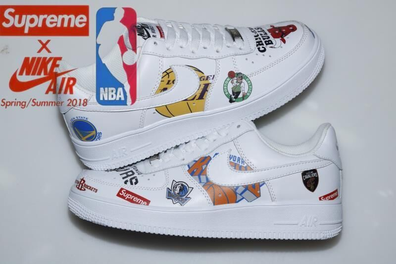 1 X Supreme In 2019 Air Nike Shoes Force NbaFav mN0vnPy8wO