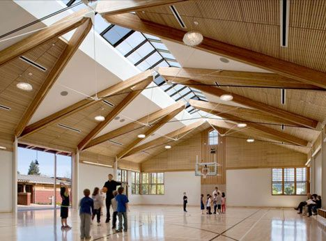 Yountville Community Centre By Siegel And Strain Architects In 2020 Architecture Roof Design Architect