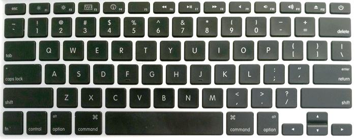 Apple Unibody Macbook Pro Keyboard Key Replacement 2013 2016 Macbook Pro Keyboard Keyboard Mac Keyboard Shortcuts