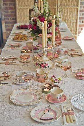 Vintage tea party table setting by Rosehip Sussex & Rosehip Sussex vintage tea parties | Gallery | Habib a | Pinterest ...