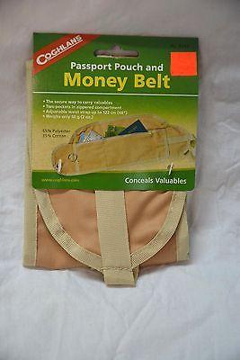 Coghlans passport pouch and money belt # 8343 ( #bte2 )
