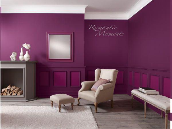 Romantic Moments   Mit Dieser Wandfarbe Garantiert! #wohnideen #wandfarbe