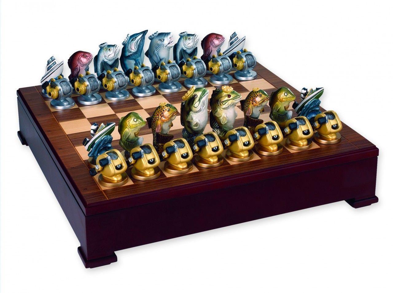 Chess · Fish Chess Set