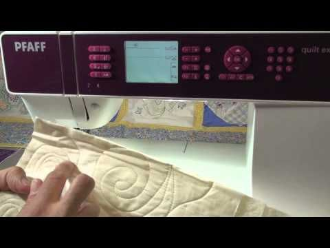 Best ever hour long video for the QE 4.0 and 4.2 PFAFF Quilt Expression - YouTube very clear and helpful!
