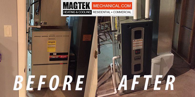 Check Out A New Install In Homer Glen Magtek Magtekmechanical