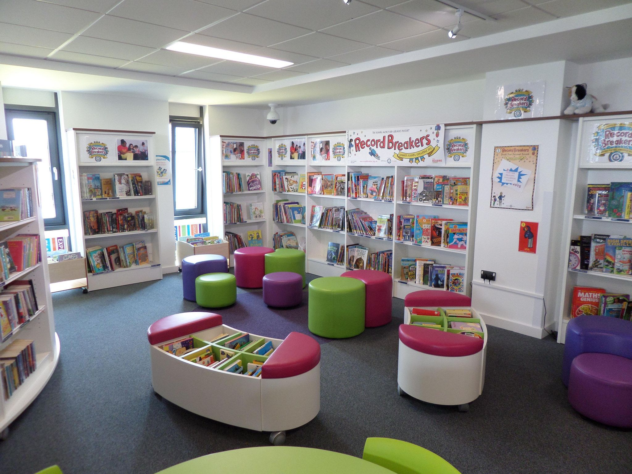 New Library And Community Centre Opens In Cobham Cobham Fc And  # Bibliotheque Placo Design