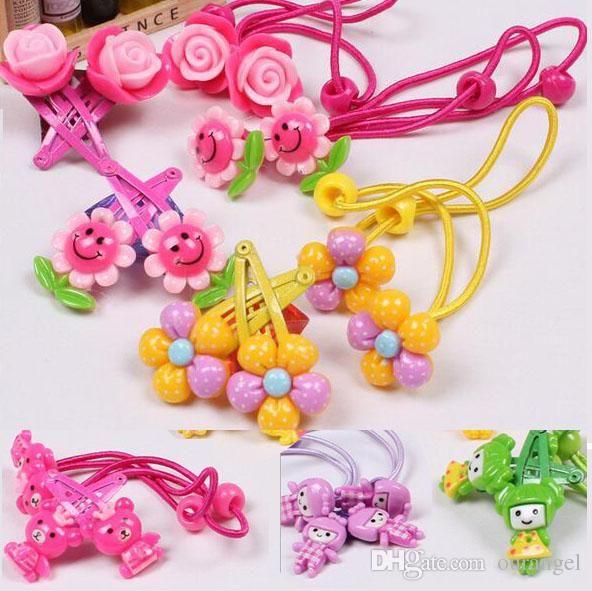 Girls' Clothing Girl Hair Accessories Hair Clips Cute Children Accessories Hair Pin Flower Clip Mother & Kids