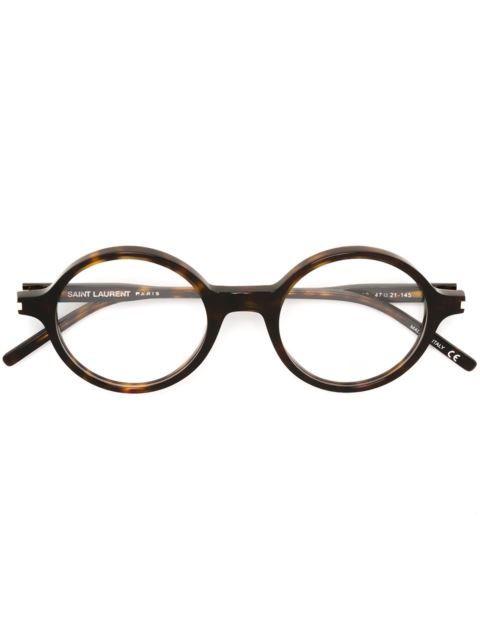e52fb510553 farfetch . saint laurent. SAINT LAURENT round frame glasses.