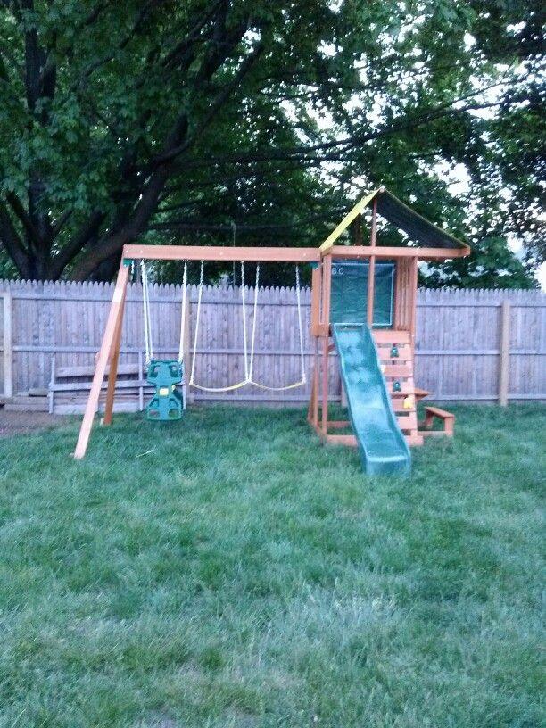 Big Backyard Springfield Playset From Toys R Us Installed In Westville Nj Big Backyard Backyard Toy R