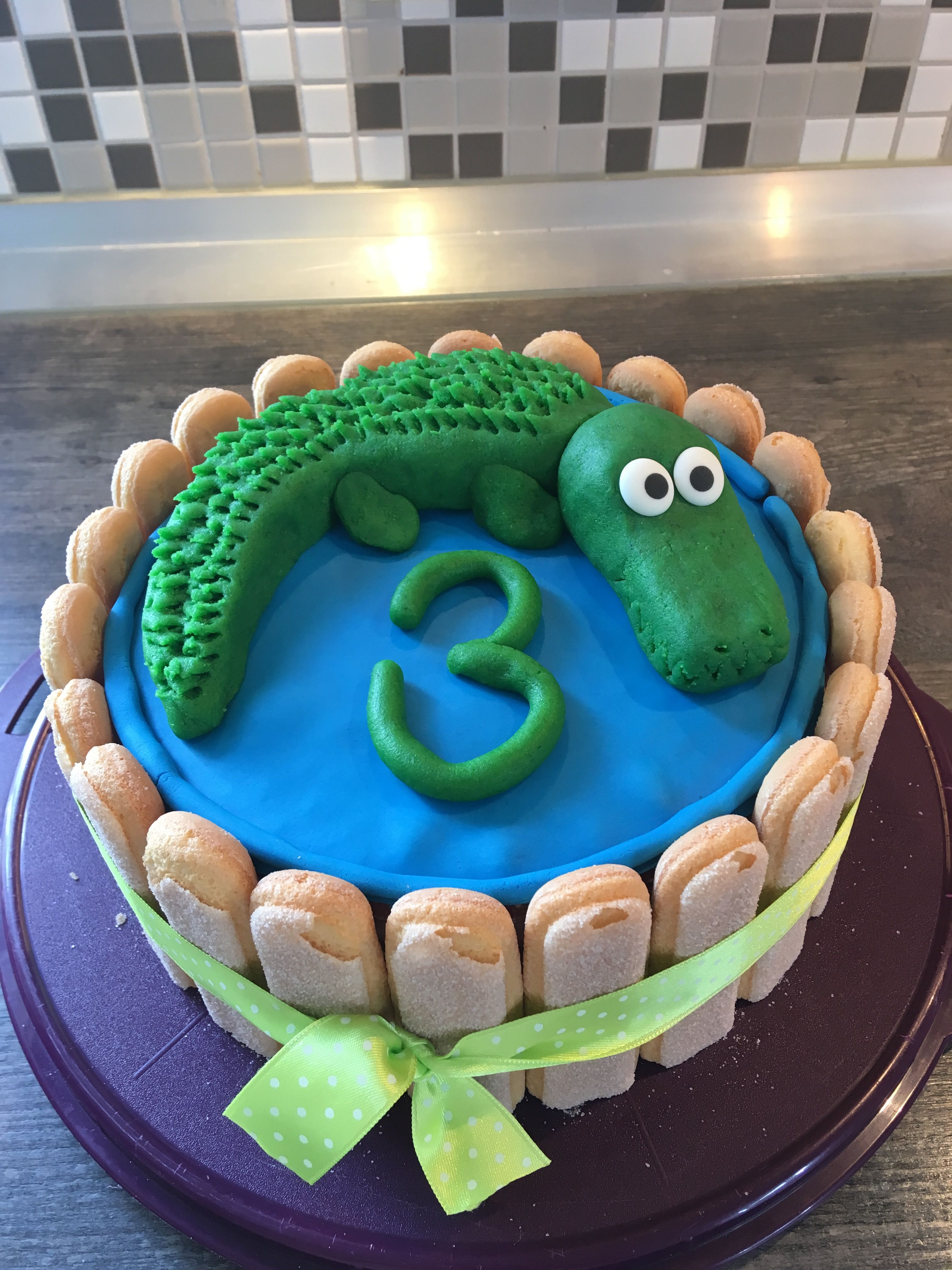 Kindergeburtstag Krokodil Torte Dritter Geburtstag Kuchen Kindergeburtstag Krokodil Kuchen Kindergeburtstage