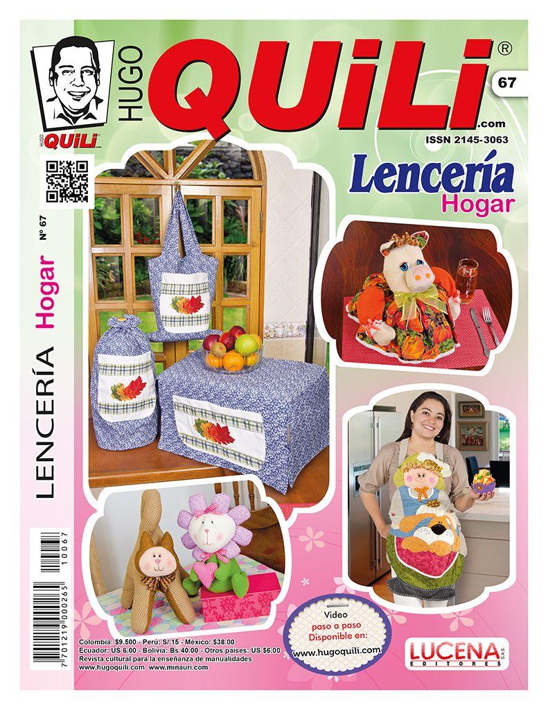 revista hugo quili lenceria hogar no 67 revistas