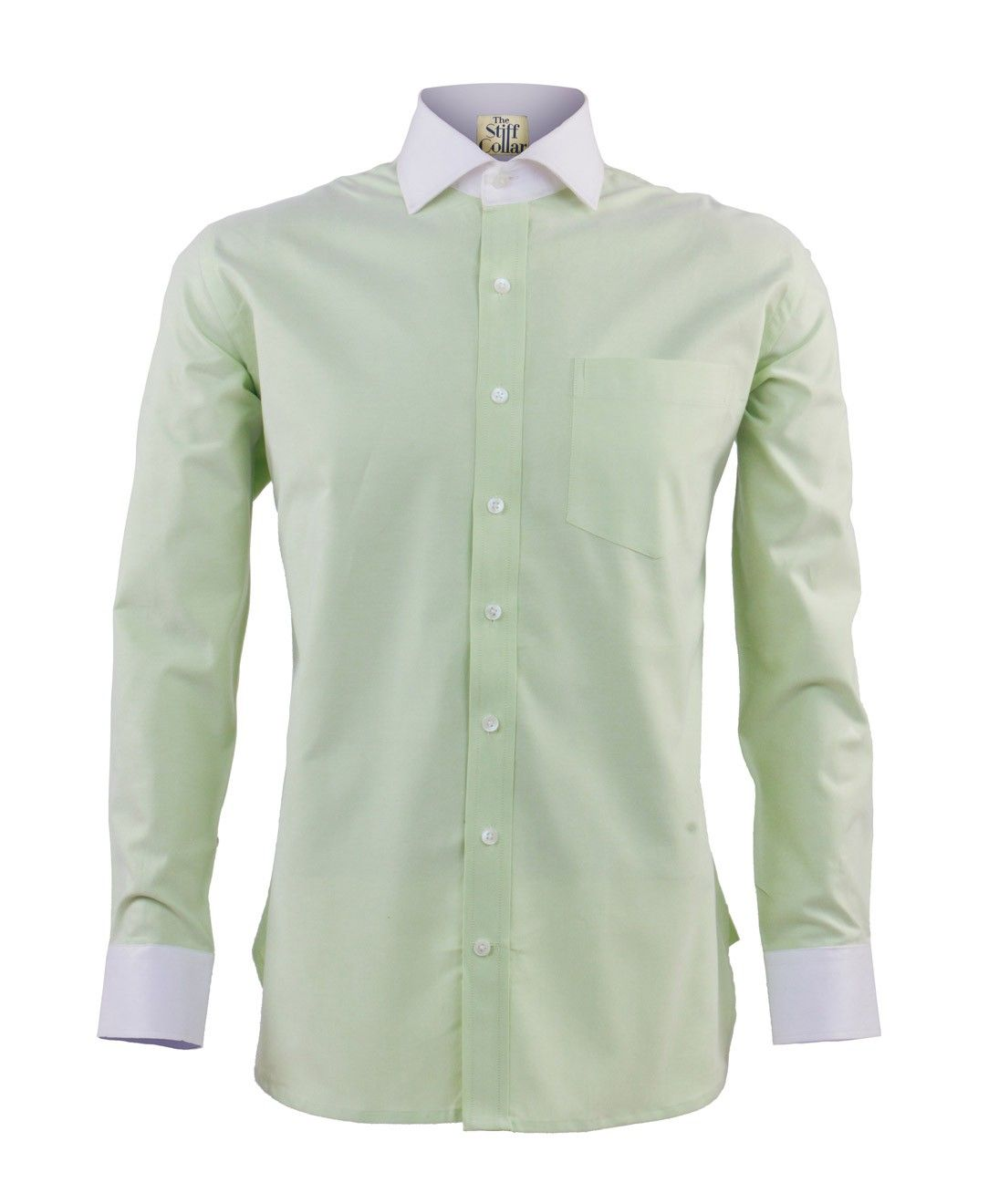 Pista Green Oxford Banker's Shirt