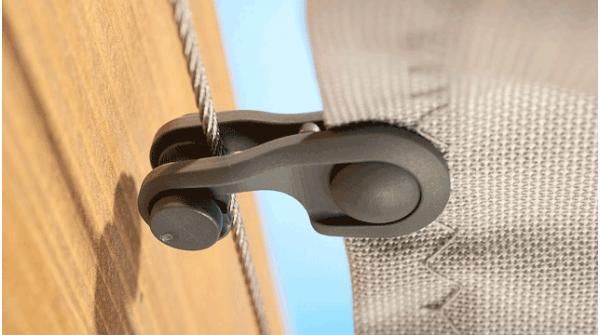 Spannmaxxl Einzelteile Toilettenpapierhalterung Terrassendach