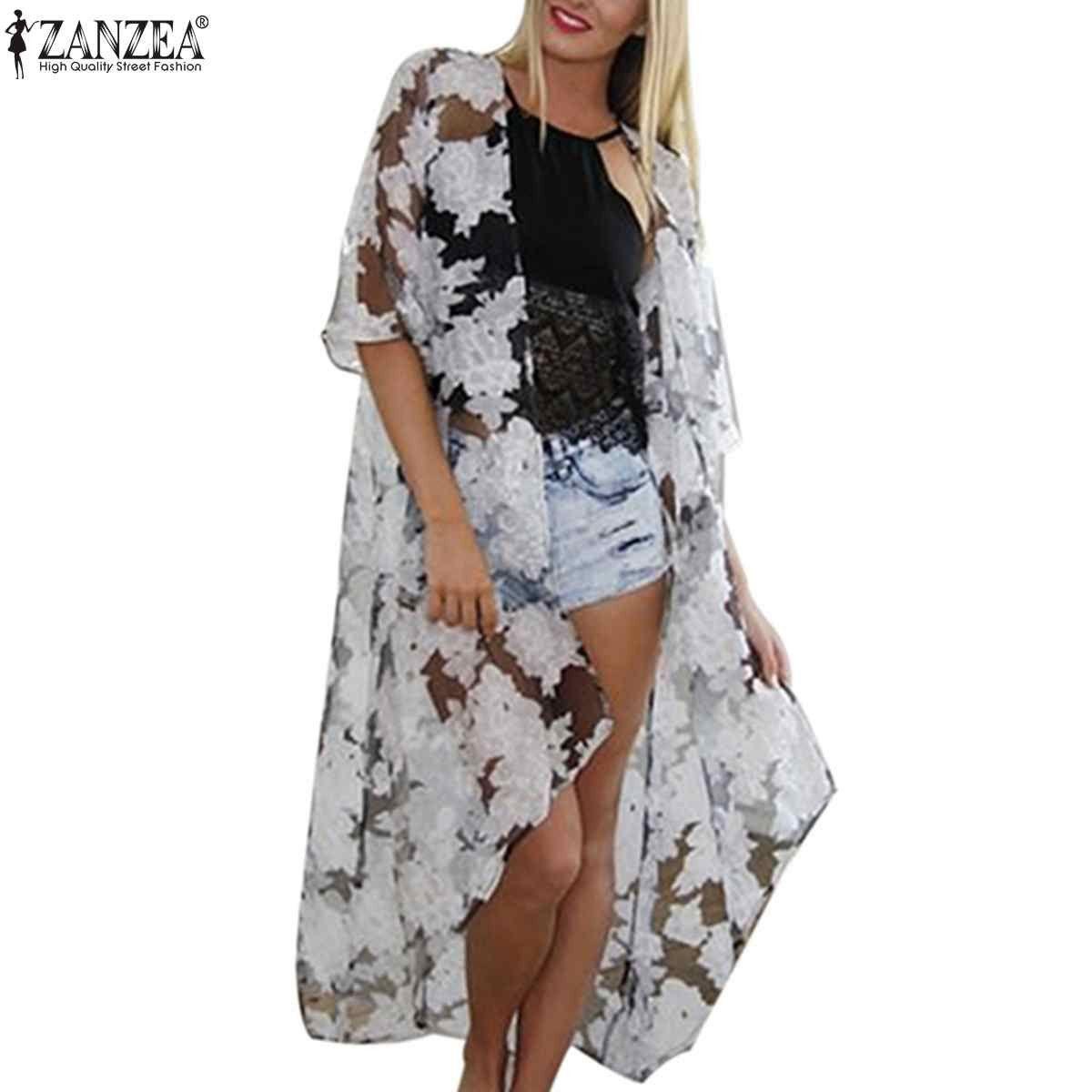 Plus Size S-7XL 2015 Summer Women Zanzea Fashion Beach Cover Up ...