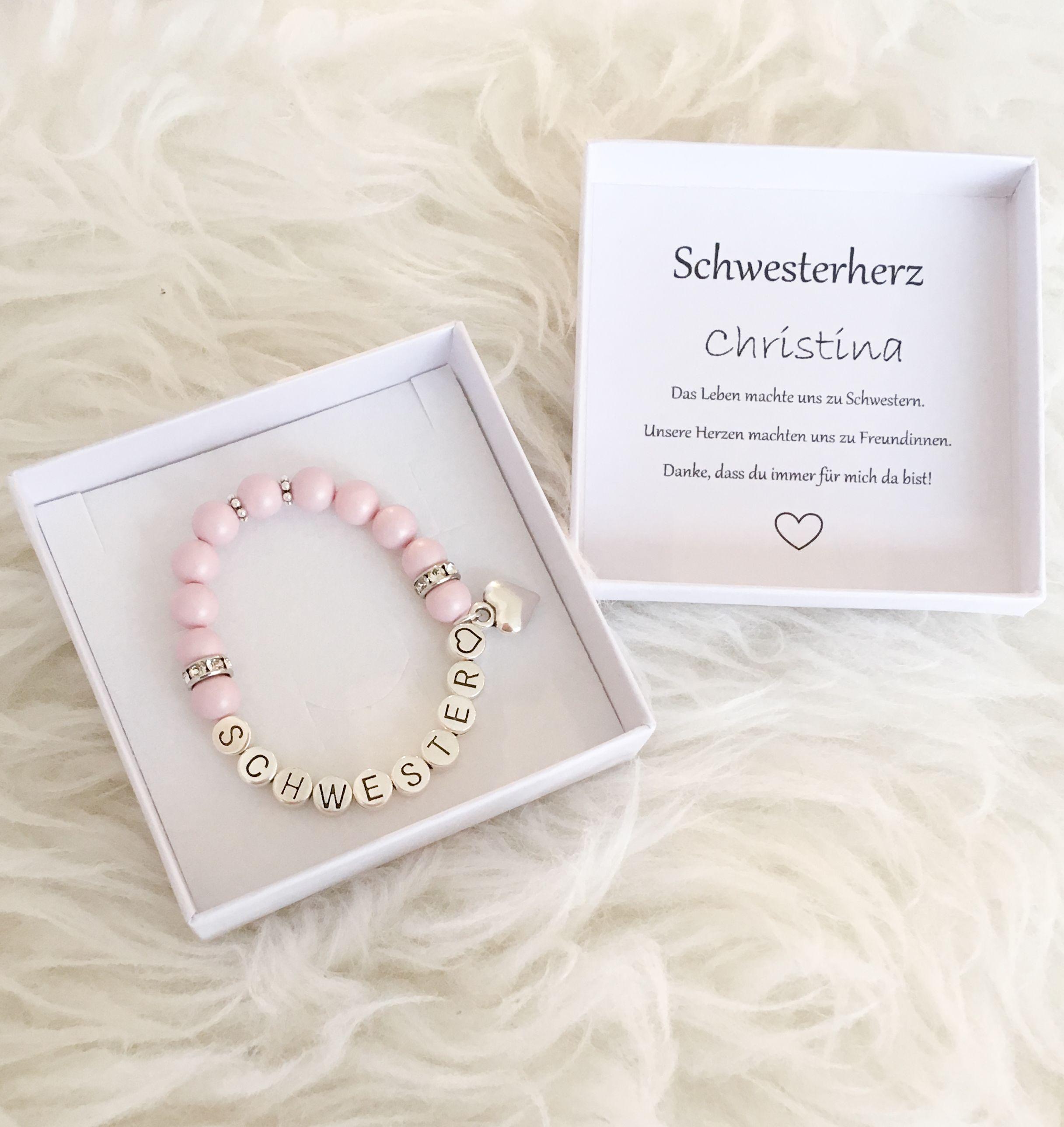 Geschenk Schwester #personalisiertegeschenke
