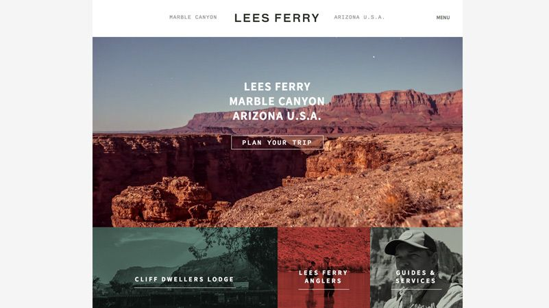 Lees Ferry Website