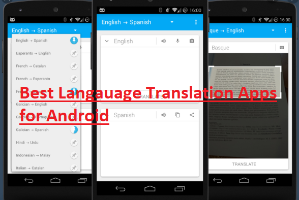 Language Translation Apps for Android Android Language