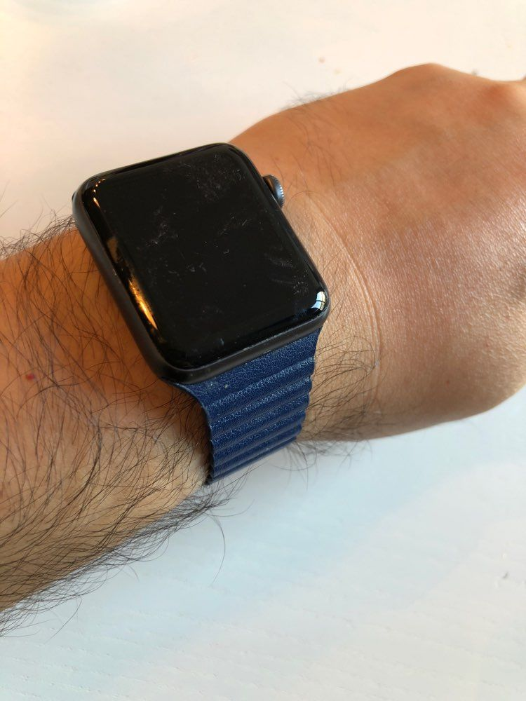 Magnetic Leather Loop In 2020 Apple Watch Leather Apple Watch