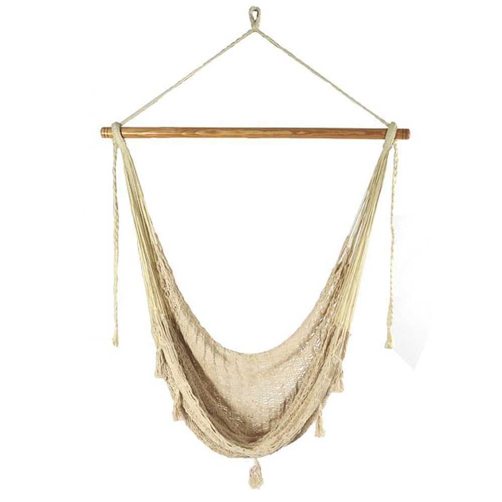 As you settle into the soft comfort hanging hammock chair youull