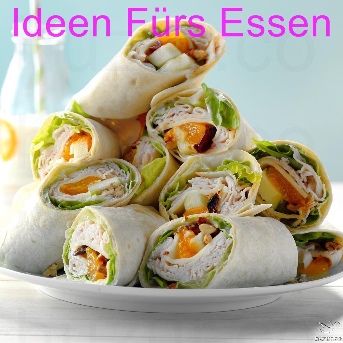 Ideen Fur Essen Auf Party Kalte Sandwiches Essen Snacks Zum
