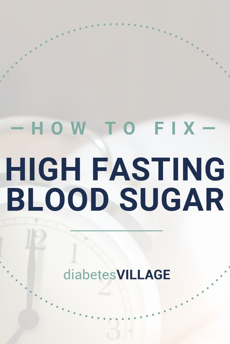 How to fix high morning blood sugars | My Diabetes