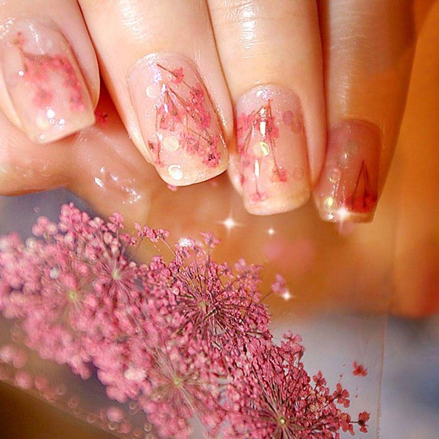 More Views. Dry Dried Flower Nail ... | Nail Feeds | Pinterest ...