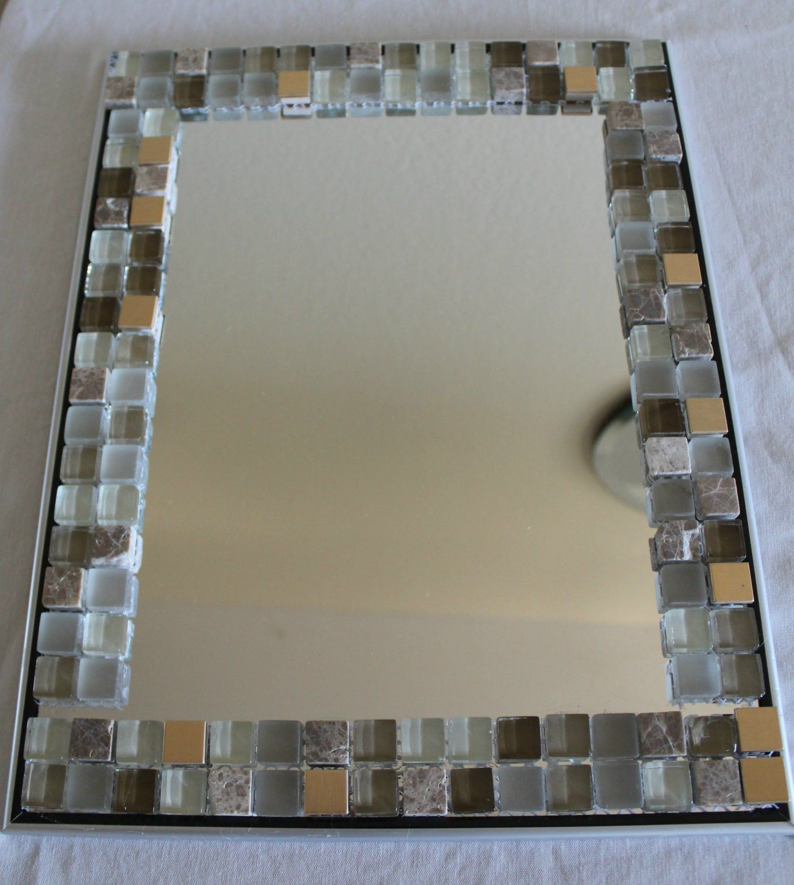 How To Decorate A Mirror With Mosaic Tiles 25 Best Bathroom Mirror Ideas For A Small Bathroom  Decorative