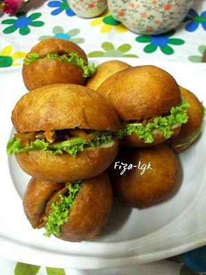 Fiza S Cooking Burger Malaysia Makanan Resep Makanan Resep Masakan