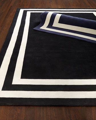 Ralph Lauren Home Fitzgerald Border Rug Border Rugs Ralph Lauren Home Hand Tufted Rugs