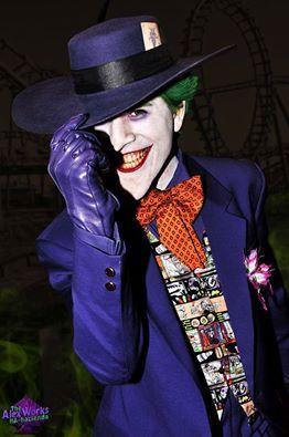 Joker Hahaha Serious Super Bad Evil Purple License Plate Frame