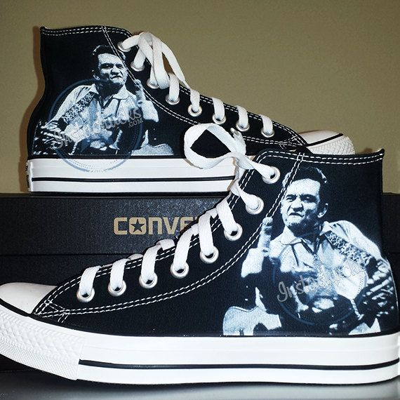 4e5a805203c44e Johnny Cash The Finger Chucks by InstaChucks on Etsy