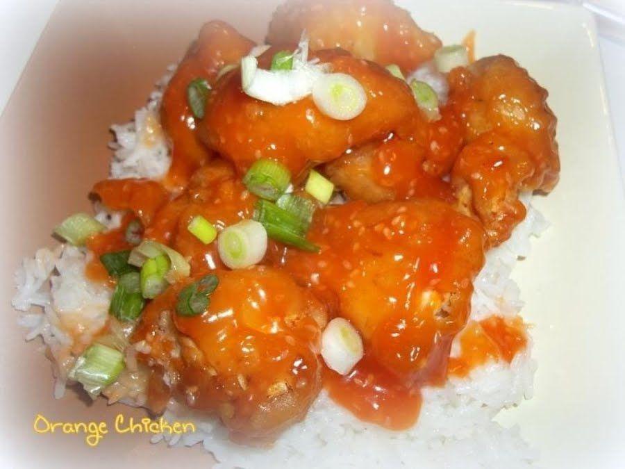 ~ Orange Chicken ~ #chineseorangechicken ~ Orange Chicken ~ #sesame #orange #chinese #main-dish #chicken #justapinchrecipes #chineseorangechicken