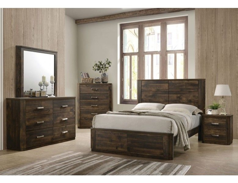 Kozani Transitional Style Bedroom Collection Home Decor Styles