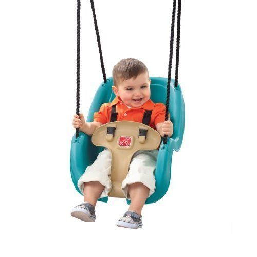 Kids Outdoor Swing Chair Patio Porch Portable Seat Durable Weather Resistant