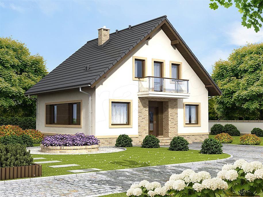 Projekt Domu Tamarillo 2 House Styles House Architecture