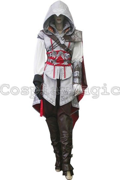 Assassin S Creed Ii Ezio Auditore Da Firenze Cosplay For Women Cosplay Outfits Assassins Creed Costume Casual Cosplay