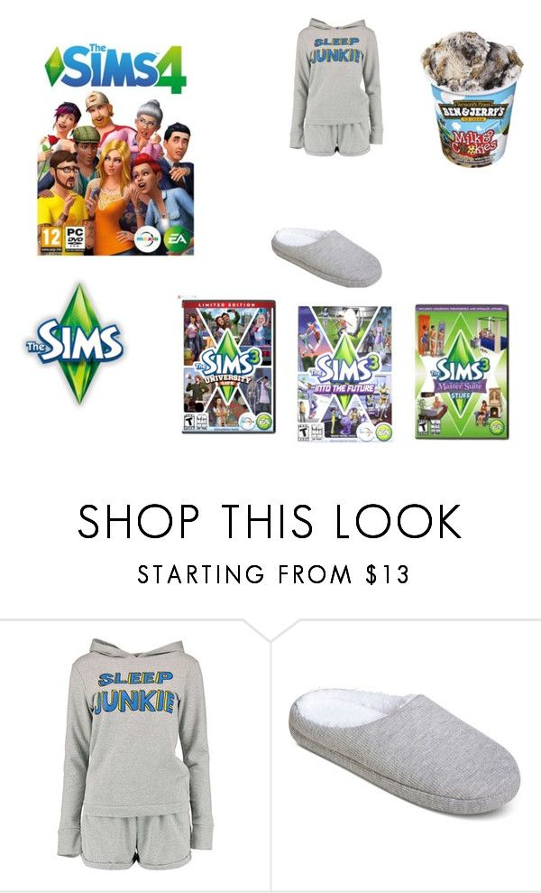 """""""Soon I'm going to be playing the sims!!!"""" by nellysofab19 ❤ liked on Polyvore featuring Boohoo and Gilligan & O'Malley"""