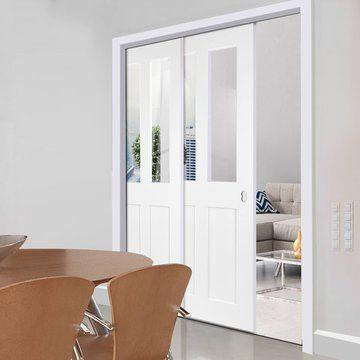 Telescopic Pocket Doors - Pocket Doors & Telescopic Pocket Doors - Pocket Doors | Doors | Pinterest | Pocket ...