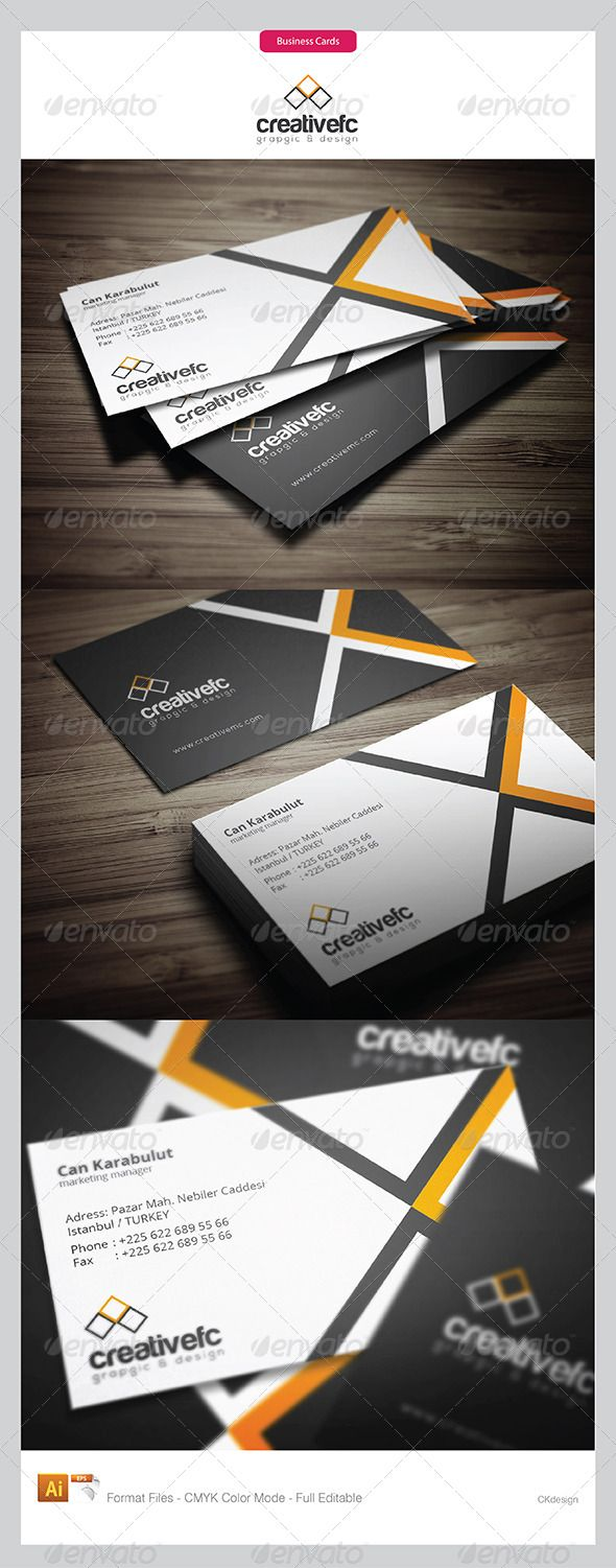 Corporate Business Cards 389