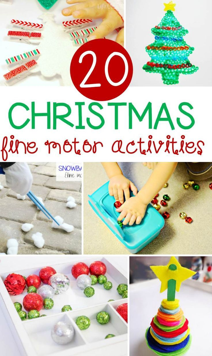 20 fun christmas fine motor activities teaching preschool fine motor activities for kids. Black Bedroom Furniture Sets. Home Design Ideas