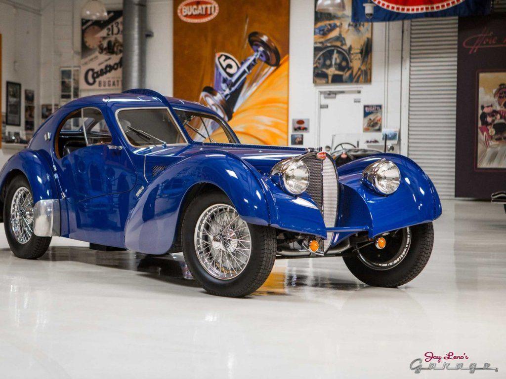 Jay Leno's Bugatti's Type 57 Atlantic SC Bugatti type 57