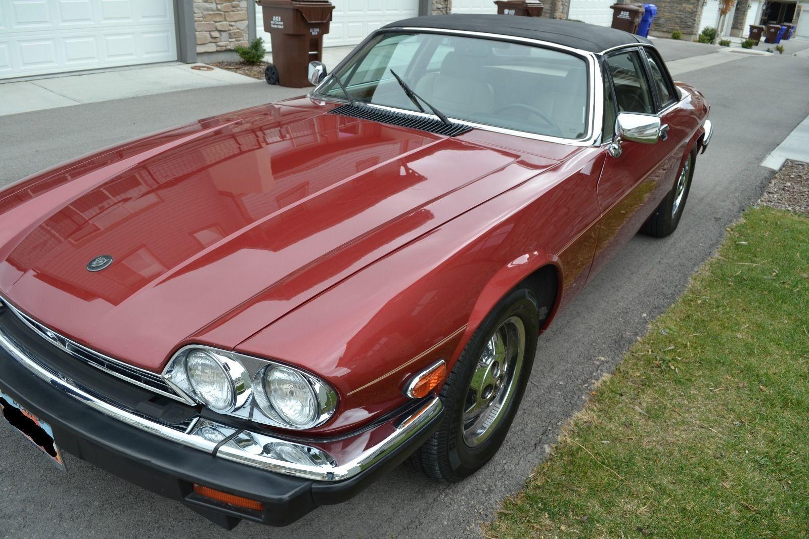 1987 Jaguar XJ SC Coupe