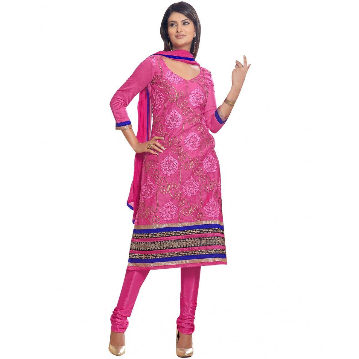 World's Most Selling Sohani Pink color Laces Salvar Suit
