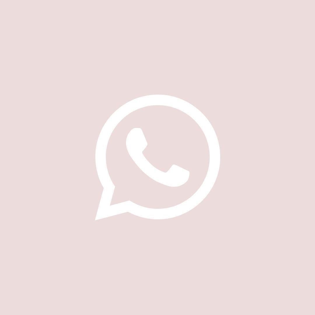 Whatsapp Aesthetic Icons App Icon Iphone Wallpaper App App Icon Design
