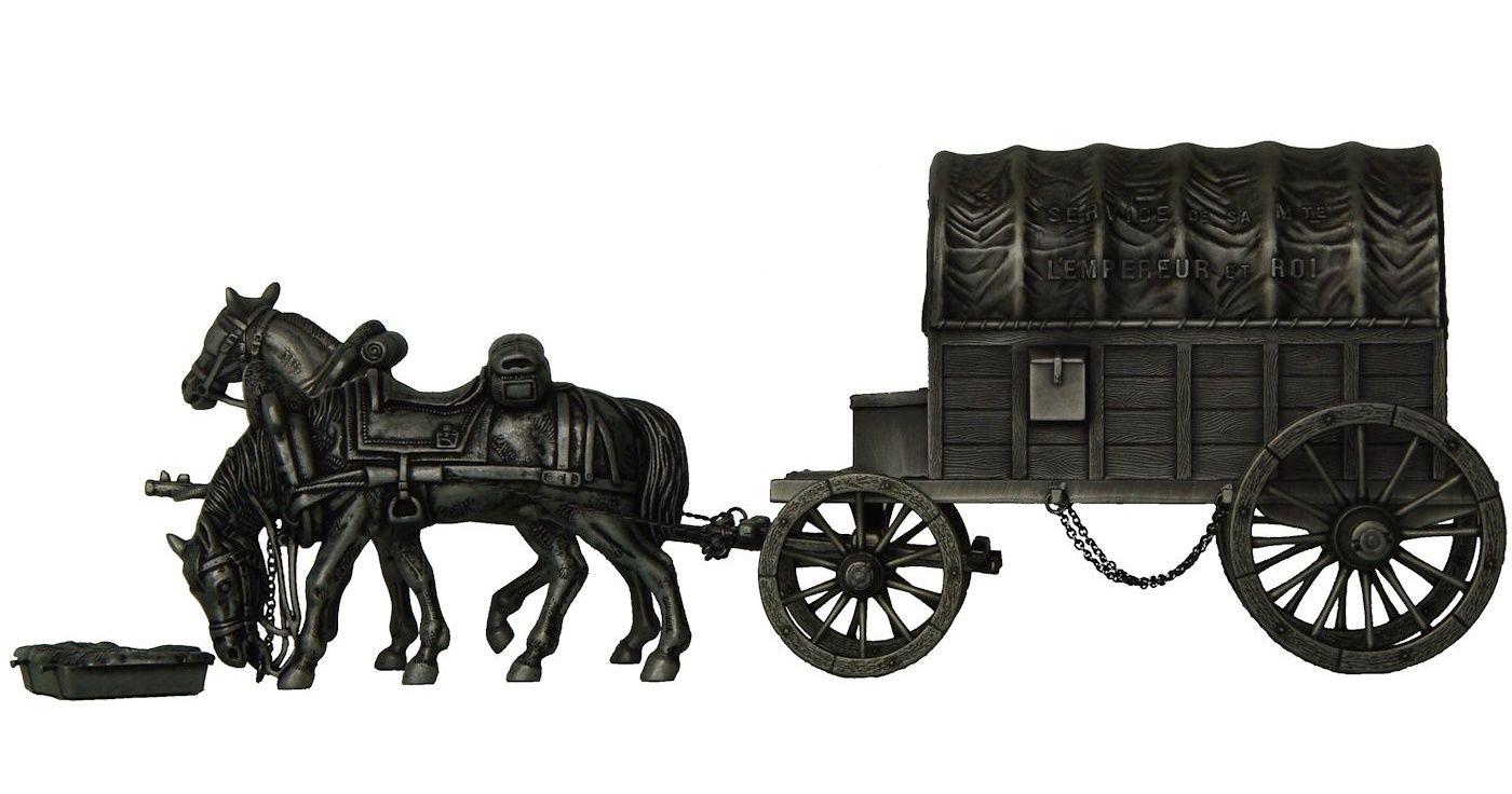 Furgón de servicio del Emperador (Manufacture Historique de Soldats de Plomb)