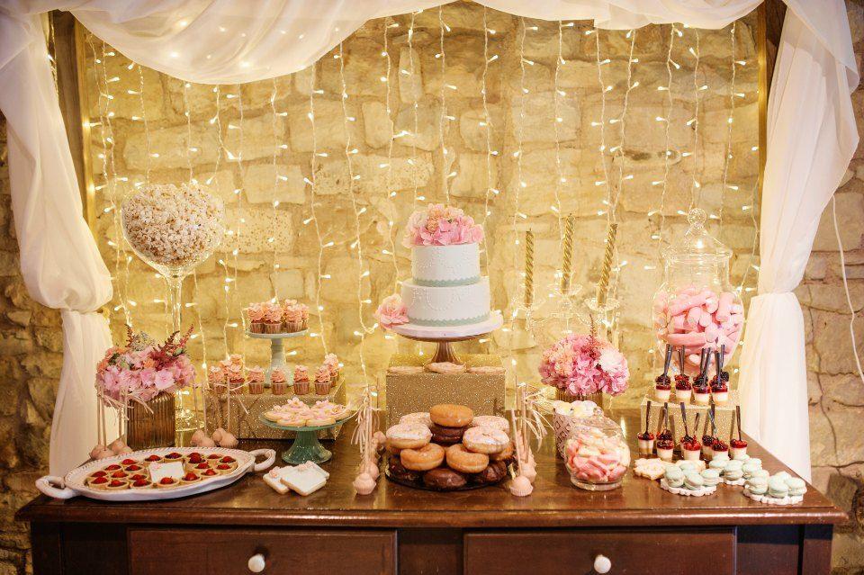Una boda rom ntica en rosa y dorado decoraci n vintage - Bodas sencillas y romanticas ...