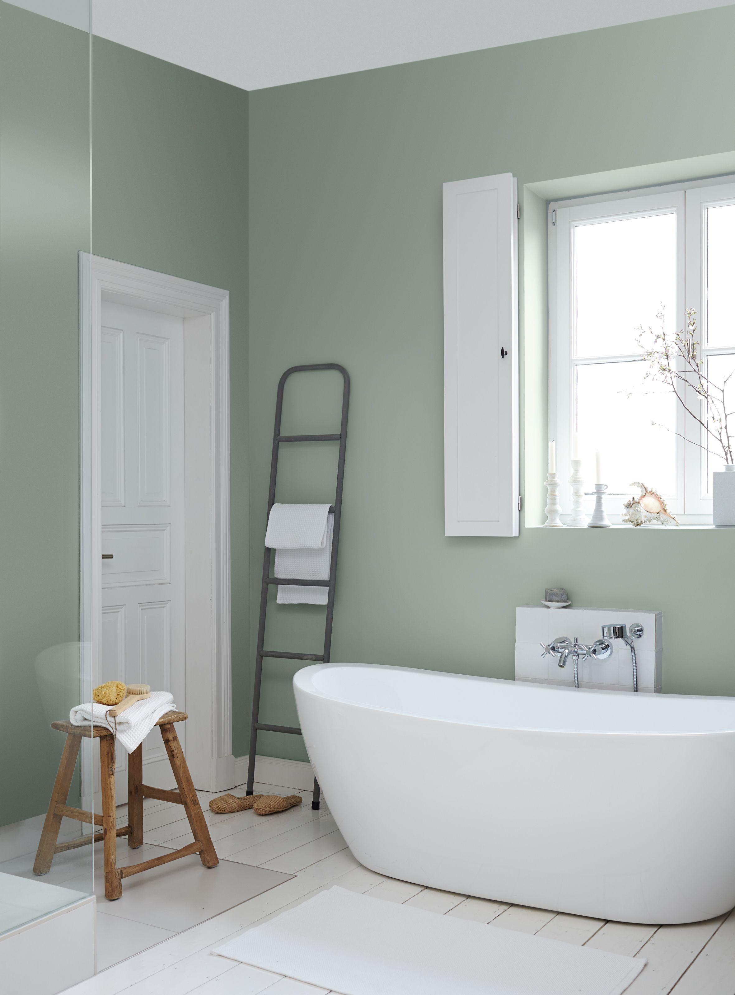 Ideen fürs Streichen und Gestalten vom Bad: Alpina Farbe