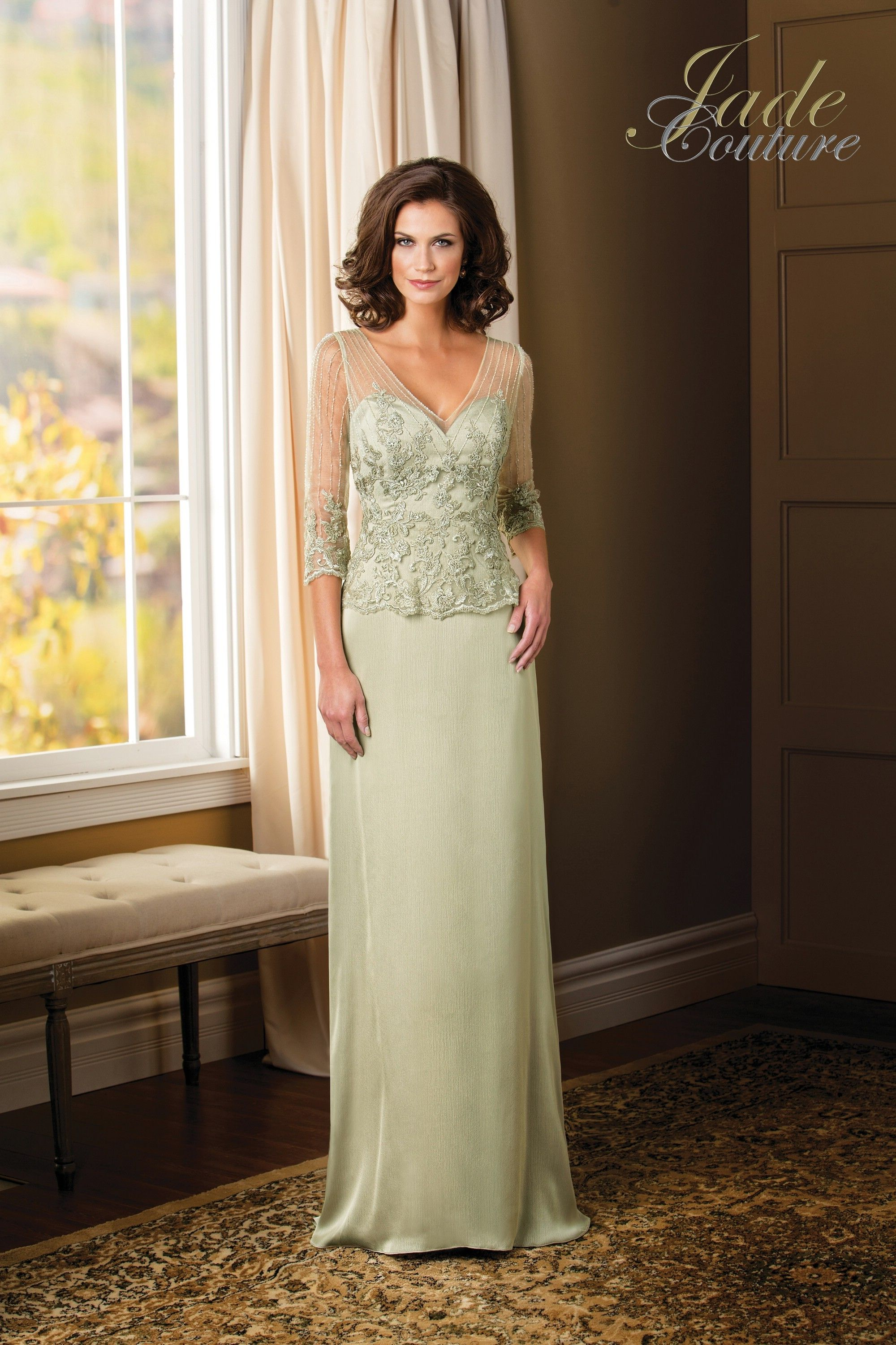 Love this honeydew color for Mom! | Looks for Mom-- Mothers of the ...