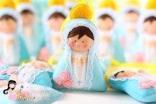 Moldes para Feltro: Nossa Senhora das Graças