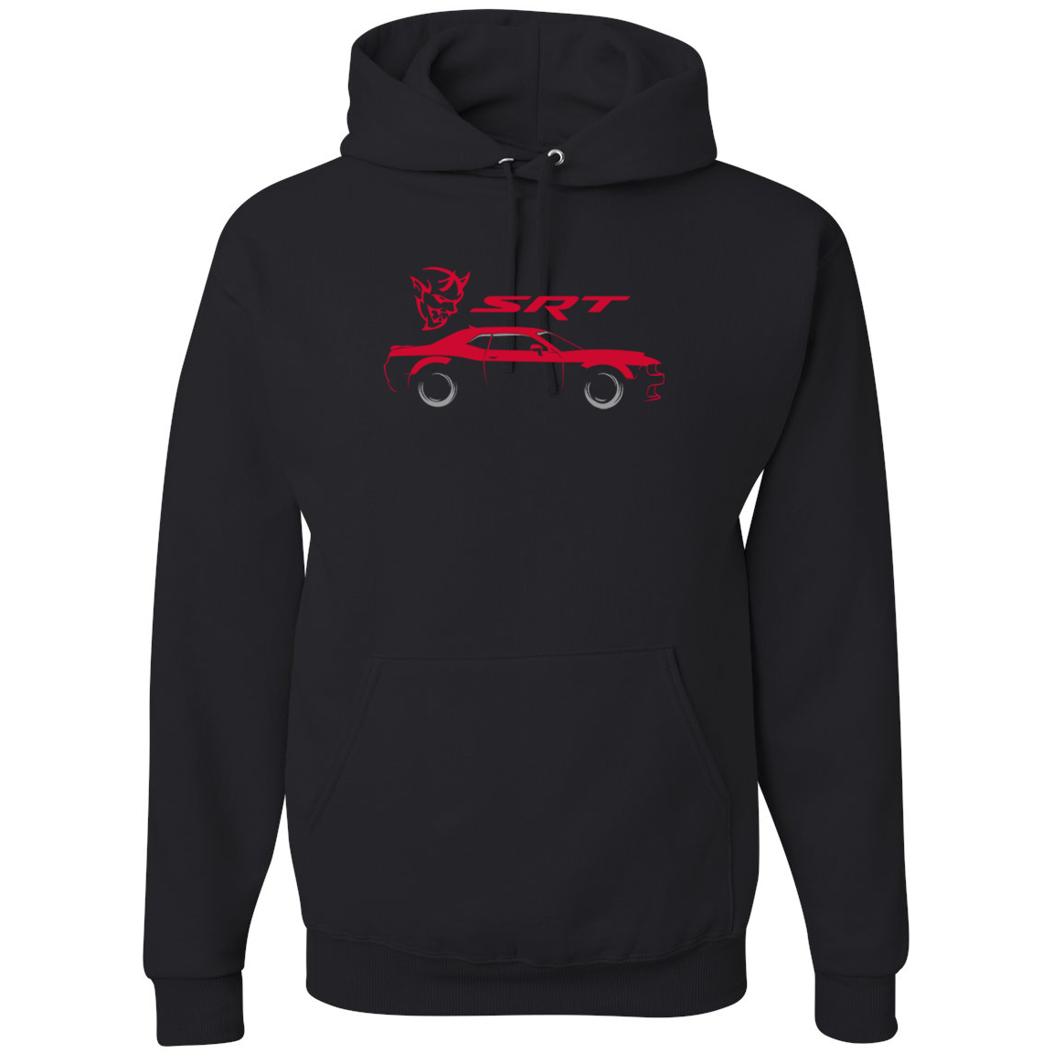 SRT Demon Speedster Racing Car Silhouette Emblem Cars and